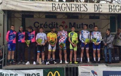 Nicola Marcerou remporte le maillot du meilleur jeune