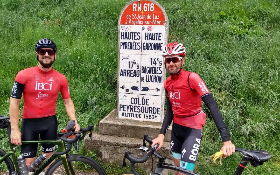 Première sortie montagne Cyclo en 2021